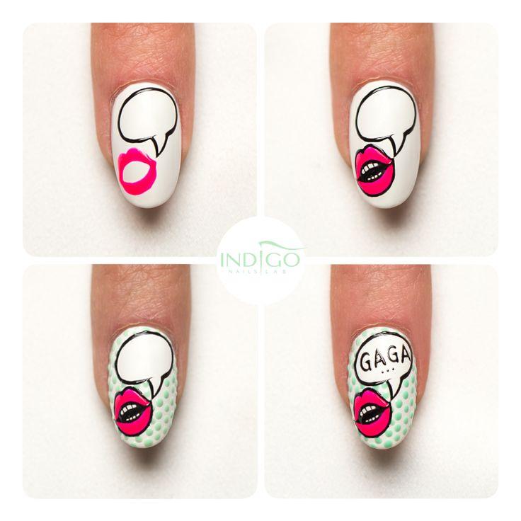 Смешные рисунки на ногтях пошагово