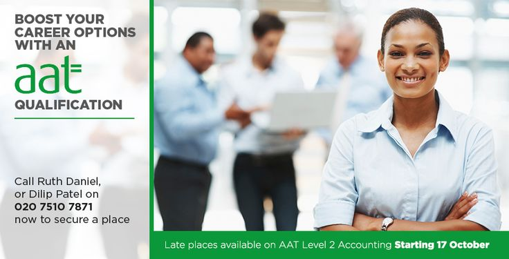 It's not too late to start an AAT Level 2 Certificate in Accounting. Click on the link below to find out more.  https://www.tower.ac.uk/adult-learners/aat-level-2-certificate-in-accounting-1