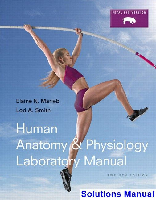 Human Anatomy and Physiology Laboratory Manual Fetal Pig Version ...
