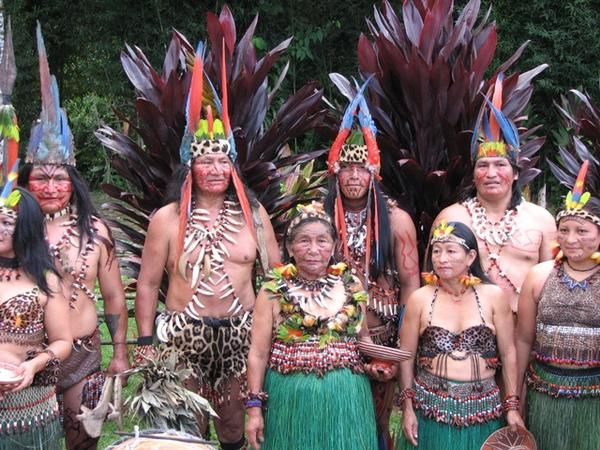 South American Tribes   Real life Avatar story: Ecuadorean tribe will 'die fighting' to ...