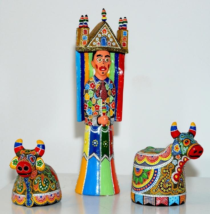 O mundo da arte popular brasileira — ou seja, o mundo dos costumes, das religiões e festas que se revelam por seu intermédio e lhe servem habitualmente de tema.
