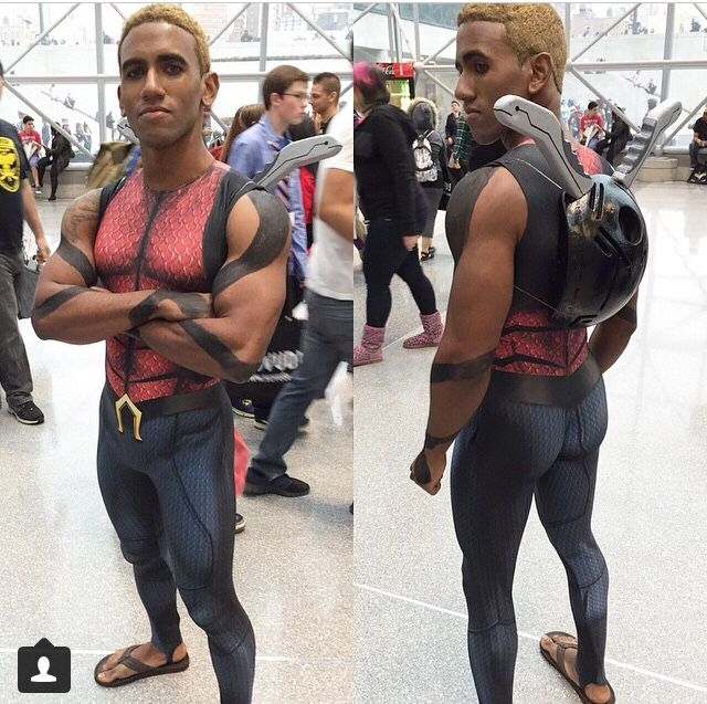 An Amazing Aqualad Cosplay From New York Comic Con 2014 Dc CosplayCosplay CostumesCosplay IdeasAnime CosplayMale