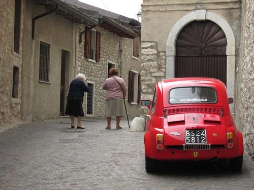 Vintage Fiat 500. Italy.