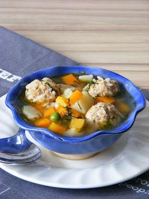 Makacska konyhája: Húsgombóc leves románosan