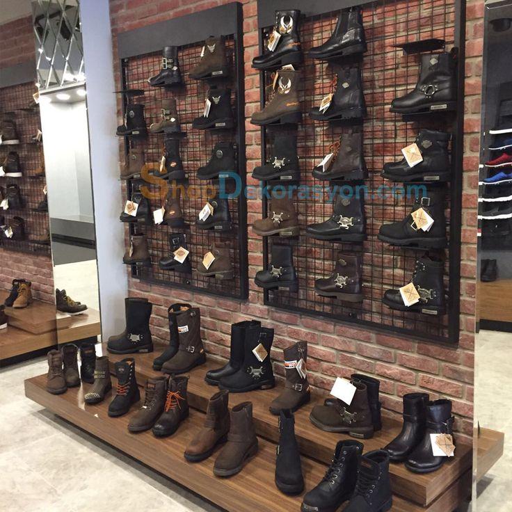 ayakkabı mağazası rafı KML805 10
