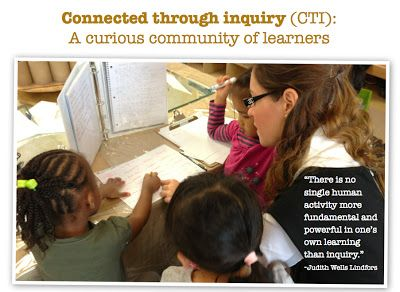 Join CTI! Connected through inquiry: A curious community of learners-Hosted by Joanne Babalis