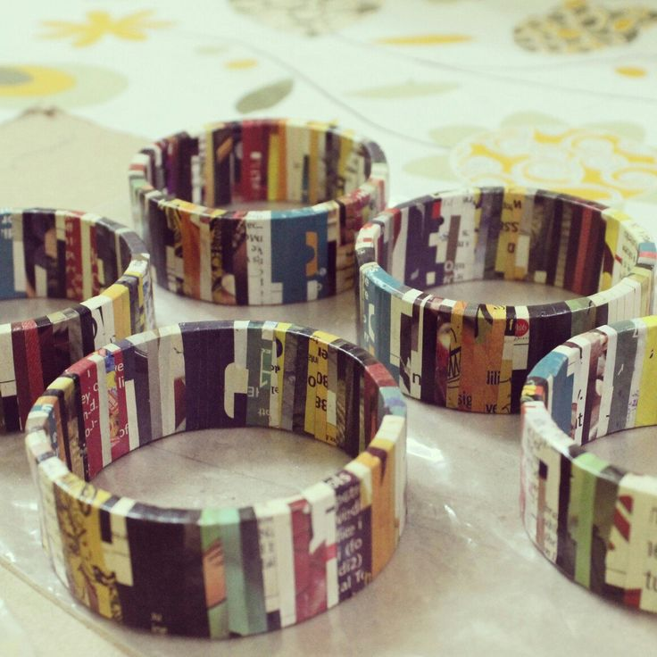 Newspaper in the morning, bracelet by night