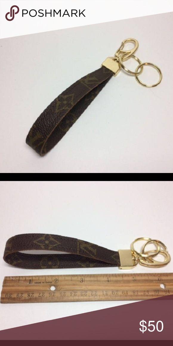 Authentic Louis Vuitton keychain wristlet Authentic keychain Louis Vuitton Accessories Key & Card Holders