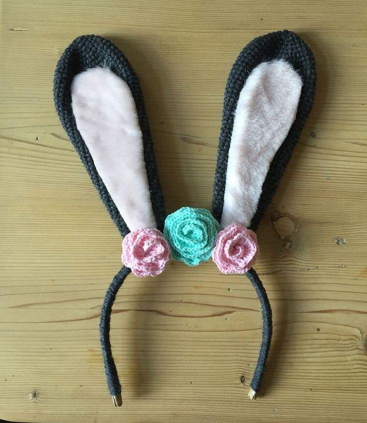 Gehäkelte Klopfer-Hasen-Ohren  FOLLOW: @owlbags.de  #owlbags #handmade #diy #crochet #knitting #instacrochet #amigurumi #crochetlove #häkeln #stricken #cute #inspiration #craft #hobby  owlbags.de | handmade with #love by owlbags.de