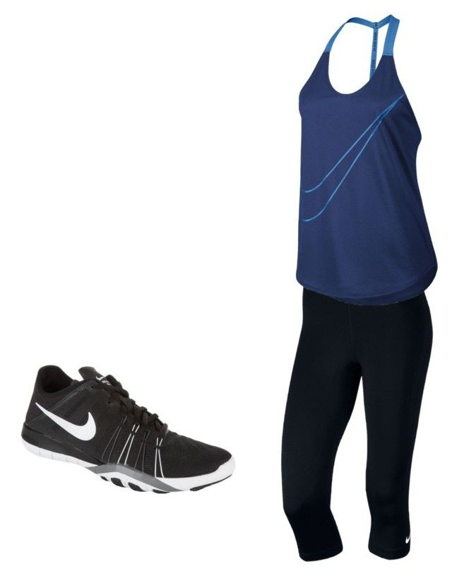 """""""Untitled #21"""" by hongjina on Polyvore featuring NIKE"""