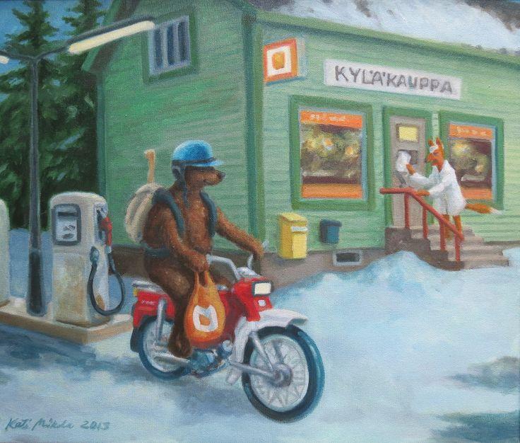 Kati Mikola, Finlandia/Finland