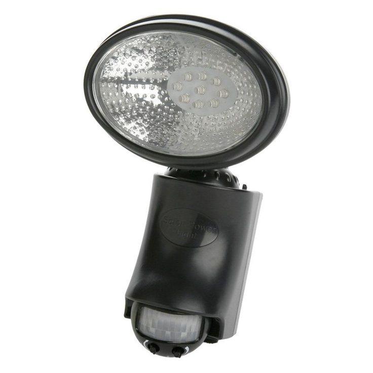 Designers Edge L950 9 LED Motion Activated Solar Flood Light - L950