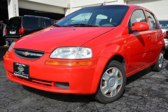 Hatchback 2004 Chevrolet Aveo Ls Hatchback With 4 Door In Vallejo