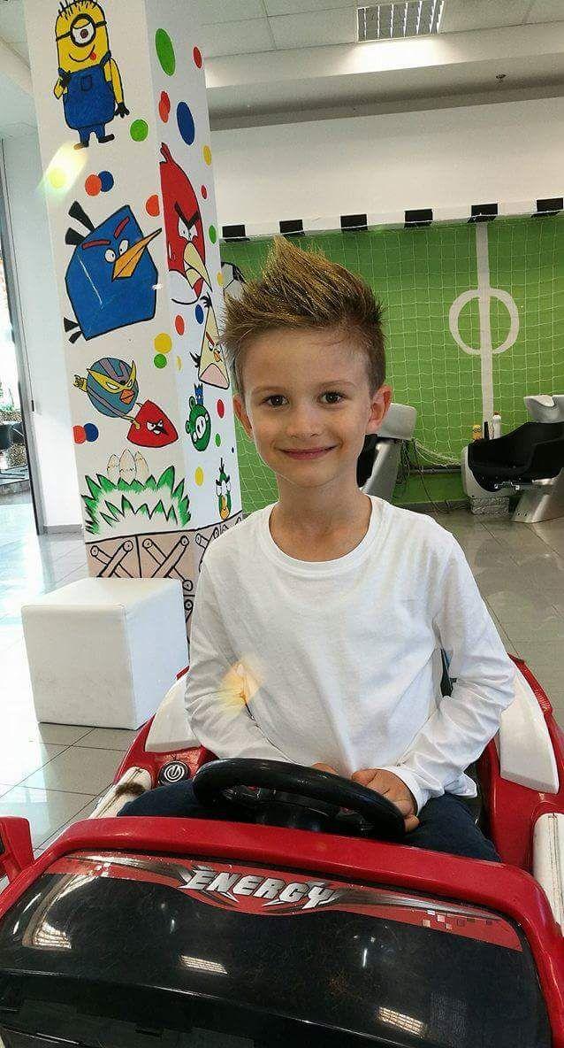 Priveďte aj vaše deti do nášho kaderníctva, sme k dispozícii v mestách Trnava a Bratislava. :) #haircut #detske kadernictvo #kadernictvo #hairstyle #haircut