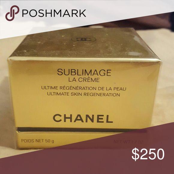 CHANEL SUBLIMAGE LA CREME Ultimate skin regeneration for face CHANEL Makeup