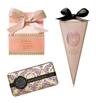 If you have a really amazing and caring friend in your life, then odds are you've received a MOR  product for your birthday or found one of its products in your Chrissie stocking. The brand is iconic for it's positively gift-worthy packaging and amazing scents