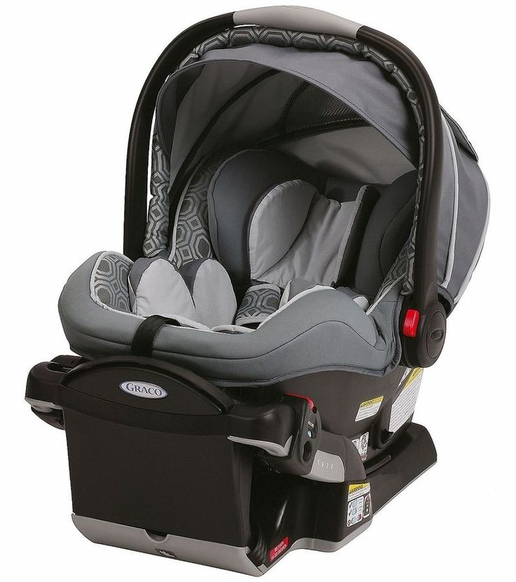Graco Snugride Baby Car Seat Infant Safety Newborn Auto Carseat Carrier w/ Base #GracoSnugrideNewbornCarseat