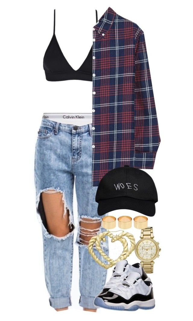 Untitled #1349 by power-beauty on Polyvore featuring polyvore, fashion, style, Band of Outsiders, Calvin Klein Underwear, Michael Kors, ASOS, October's Very Own and H.I.P.