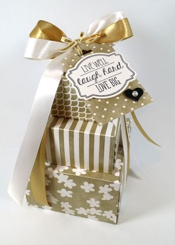 Boxes - Mary Fish - Irresistibly Yours IRRESISTIBLY YOURS SPECIALTY DESIGNER SERIES PAPER  Stampin' Up!