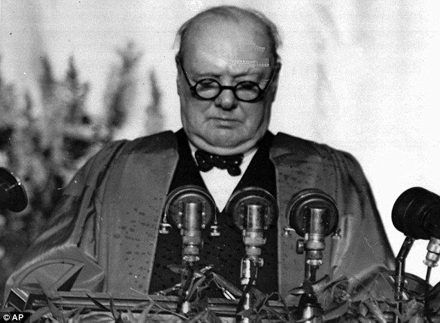 'We shall fight on the beaches, we shall fight on the landing grounds': Winston Churchill made this classic speech following the Dunkirk evacuation just weeks before becoming prime minister in 1940.