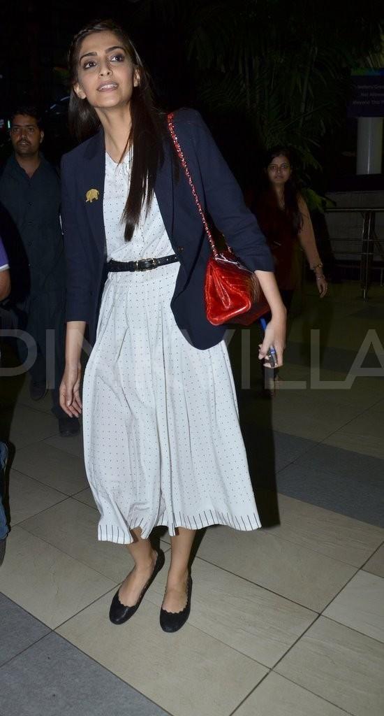 Sonam Kapoor & Fawad Khan return from Indore | PINKVILLA