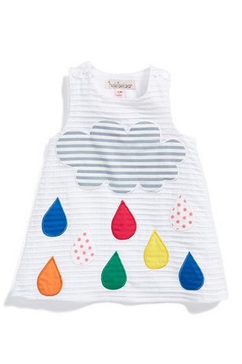 raindrops a line dress