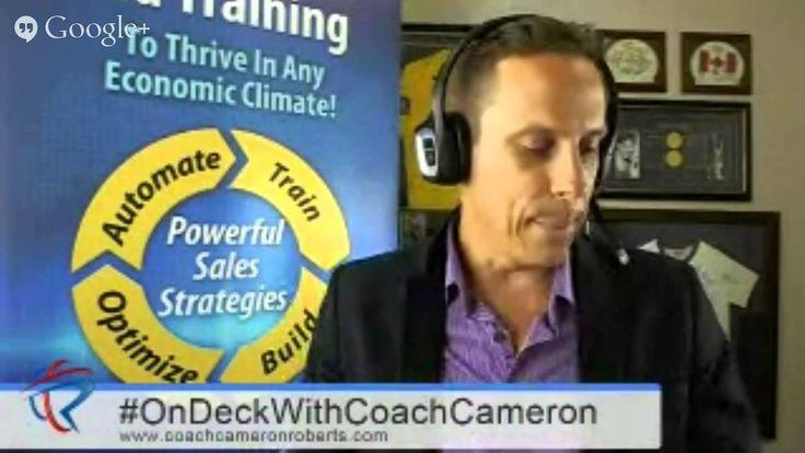 #OnDeckWithCoachCameron Ep6: 5 Ways to Increase Online Sales