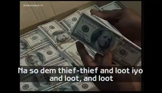 APC Dedicates Song For Goodluck Jonathan And PDP Say They Caused The Current Recession By Looting Nigeria Dry