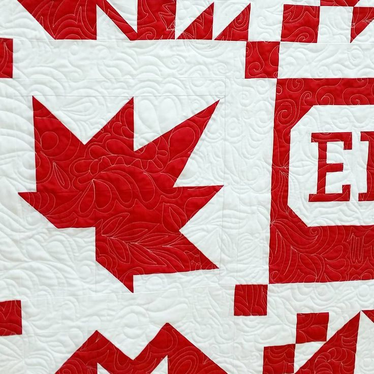 Sugar Maple block by Irene Dewar in #thecanadiansampler. #quilt #quilting #quilters