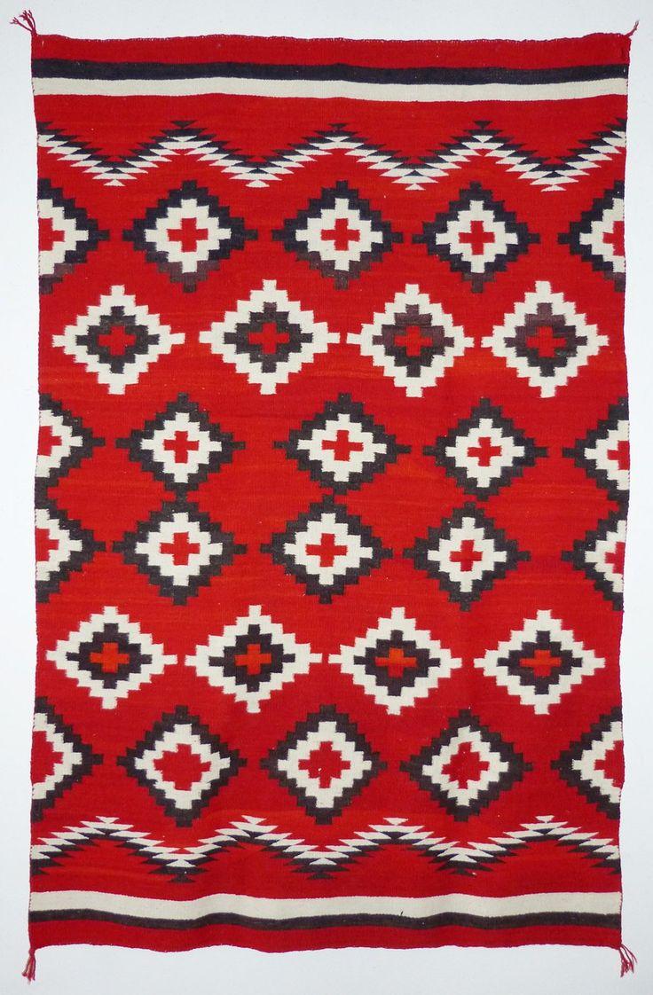 Navajo Transitional Blanket, c.1900 | Shiprock Santa Fe