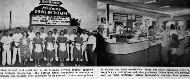 This Was The Midway Drive In Theatre Tucson It S Since Been Demolished And Its Site Is Now Occupied By Business Park