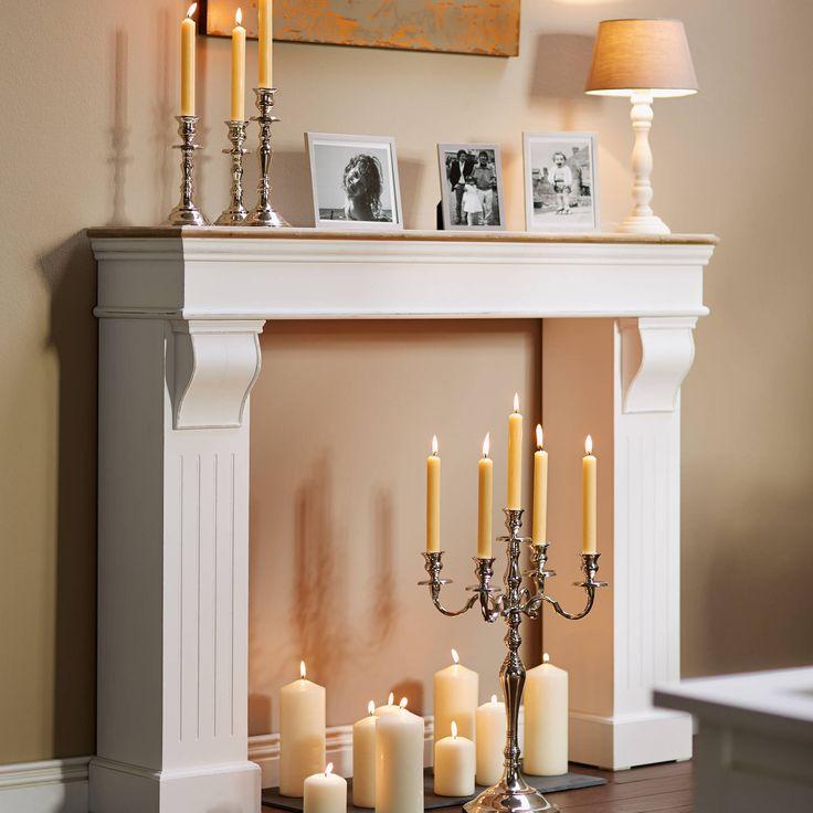 CANDELA asztali lámpa bézs 20x20x41cm