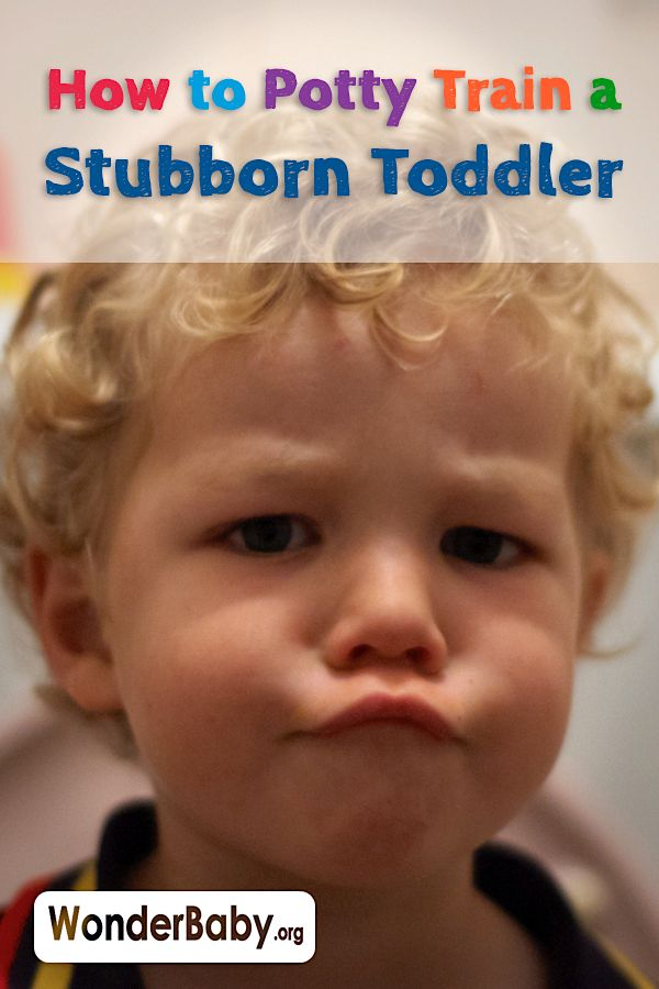 Potty training is tough no matter what, but even harder when your kid is stubborn!