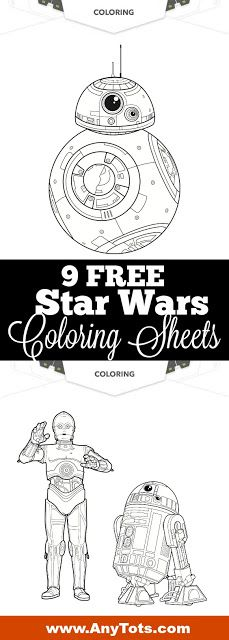 20+ FREE Star Wars Printables: Star Wars Activity Sheets. www.anytots.com