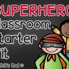 Back to School Amazing BUNDLE! Superhero Style!! These adorable printable rule posters will light up your classroom. The rules in this set of 5 {th...