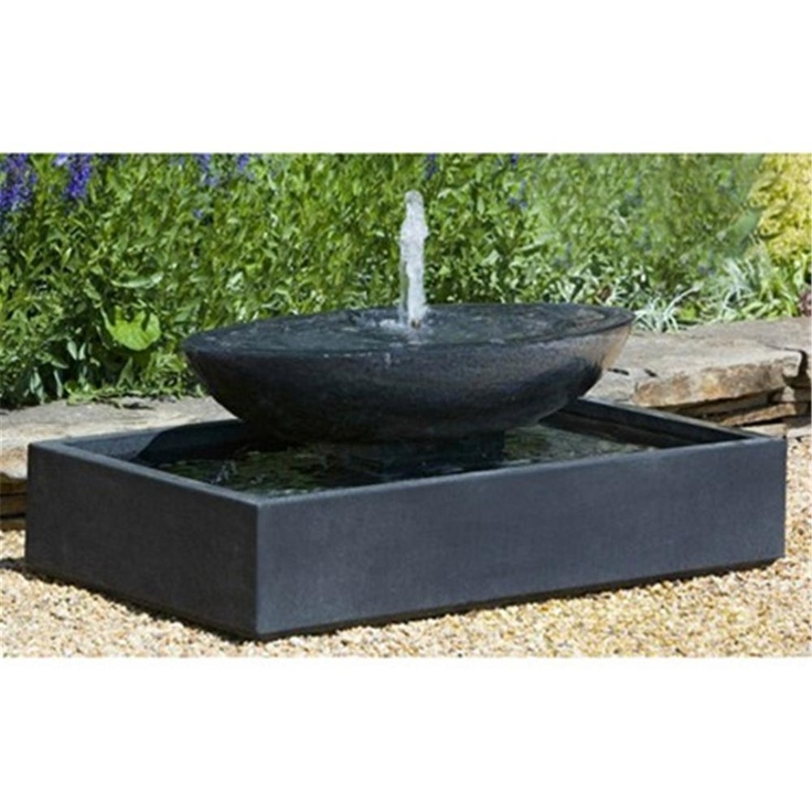1000 images about fountains on pinterest for Mid century modern water feature