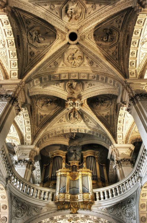 Pipe organ in St Andreas Church, DUSSELDORF, Germany