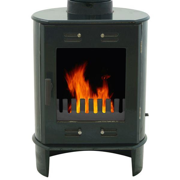 Carron Dante Wood Burning Stove - Enamel Finish