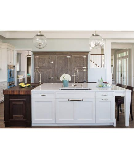 20 best contemporary kitchens by cooper pacific images on pinterest kitchen contemporary - Stylishly modern kitchen islands additional work surface ...