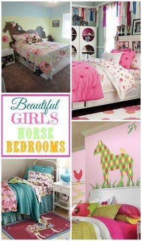 Fabulous DIY Horse Themed Bedroom Ideas for Girls (Decor, Bedding