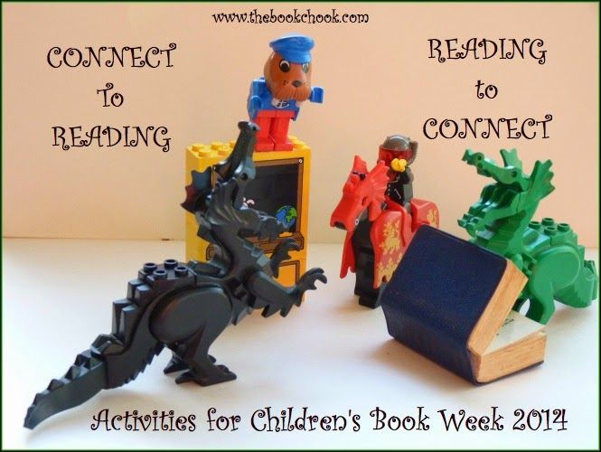 Activities for Children's Book Week 2014 - especially love the link/idea of making maps with Animaps