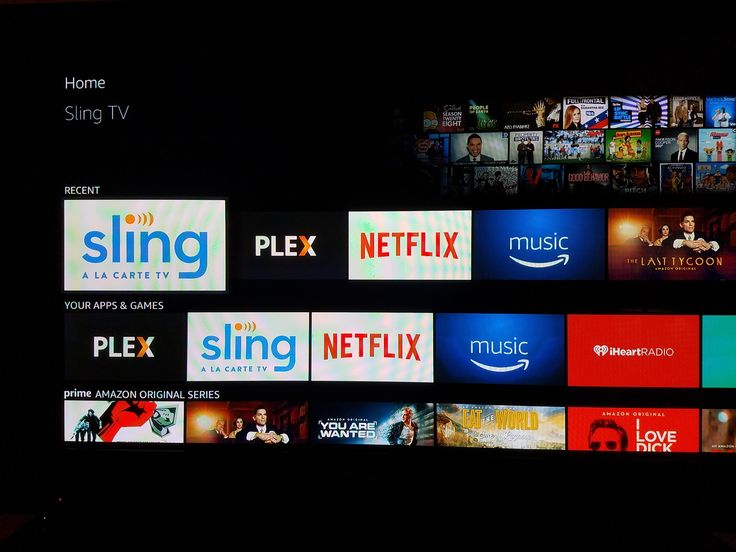 Is anyone else getting this Sling TV app icon on their Amazon TV?