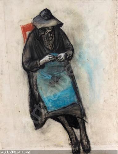 EARDLEY Joan Kathleen Harding - The blue apron