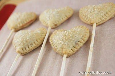 Sweet pie pops