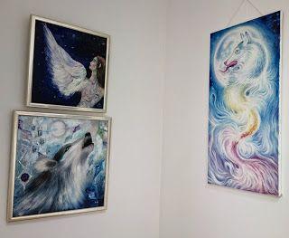 Lupii dacilor, picturi de Corina Chirila si Ioana Dascalu