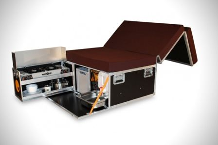 RV Kitchen Kit | Review says that with the QUQUQ Campingbox: Car Camper conversion kit ...