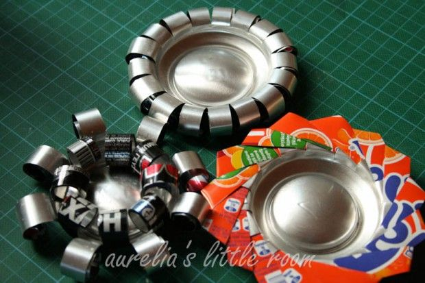 #DIY soda can candle holders - #Upcycle This! 21 Things Made from Soda Cans