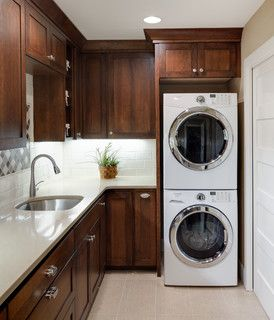 18th Place S - Traditional - Laundry Room - portland - by Beth Rhoades-C&R Remodeling