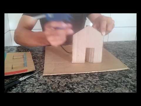 Maquete Casa de Pedra / Maquette Stone House / Casa De Piedra - YouTube