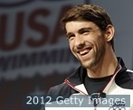 "Name: Michael Phelps  Sport: Swimming  Height: 6'4""  Weight: 185  Current Residence: Baltimore, MD.  College: Michigan"
